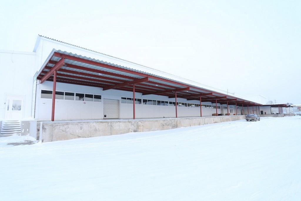 Аквилон Вологда - вид на склад