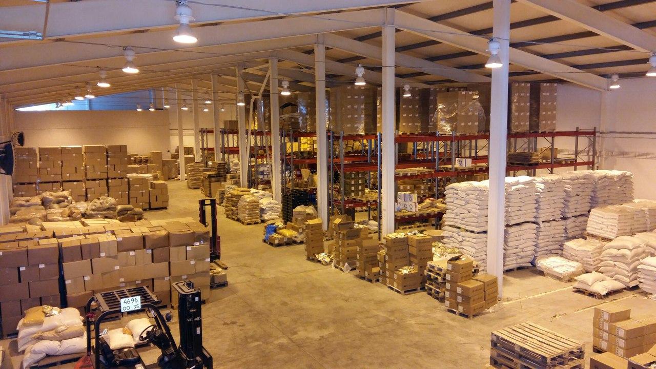 фото склада Аквилон в городе Вологда